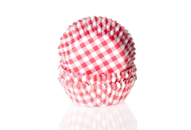Mini Baking cup  ruit rood 35x22.5 mm