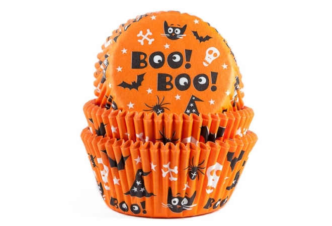 Baking cup Scary 50x33 mm